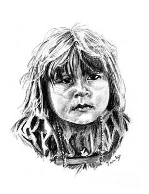 Little Comanche Poster