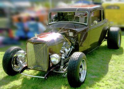 Little Deuce Coupe In Root Beer Brown Poster
