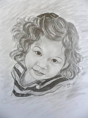 Little Girl Portrait - Bella Poster