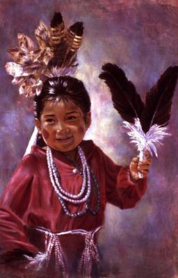 Little Hopi Dancer Poster