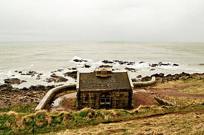 Little House At The Nigg Bay. Poster