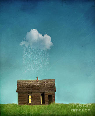 Poster featuring the photograph Little House Of Sorrow by Juli Scalzi