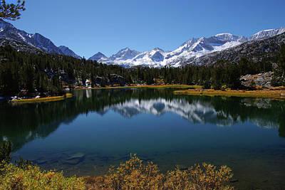 Little Lakes Valley Eastern Sierra Poster
