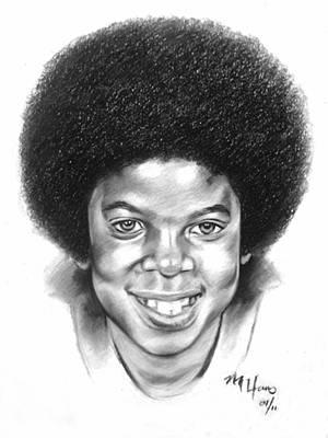 Little Michael Poster by Michael Harris