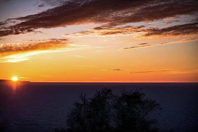 Little Traverse Bay Sunset Poster by Onyonet  Photo Studios