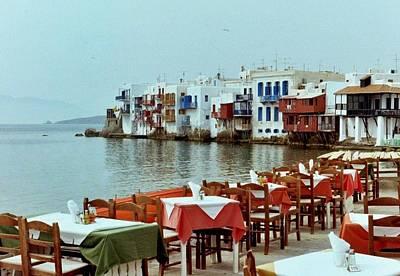 Little Venice On Mykonos Poster by Peter Mooyman