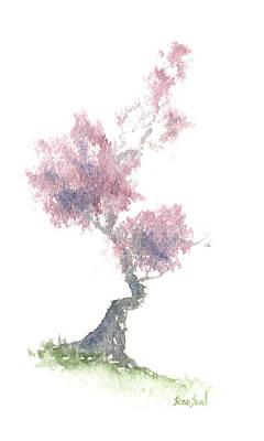 Little Zen Tree 1981 Poster by Sean Seal
