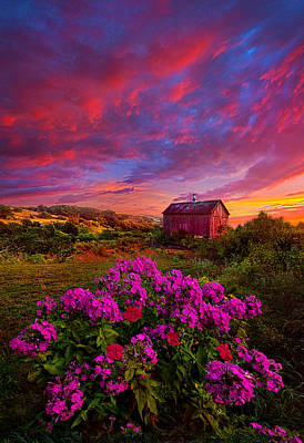 Live In The Moment Poster by Phil Koch
