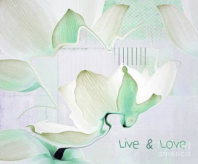 Live N Love - Absf42 Poster by Variance Collections