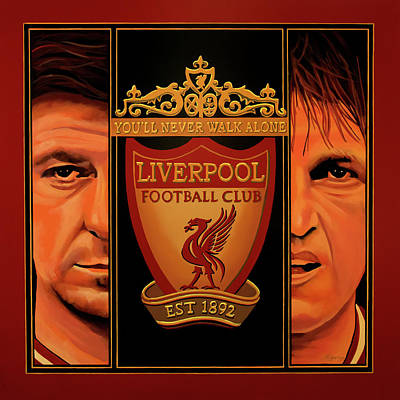 Liverpool Painting Poster