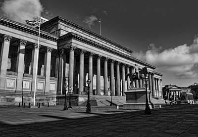 Liverpool's Saint George Hall Poster by Mr Snappy