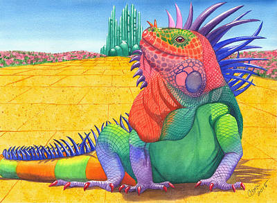 Lizard Of Oz Poster