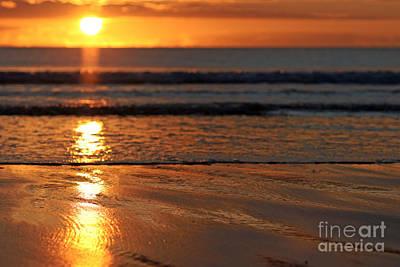 Llangennith Beach Sand Textures Poster