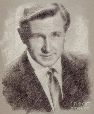 Lloyd Bridges Hollywood Actor Poster by Frank Falcon