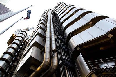 Lloyds Building London  Poster
