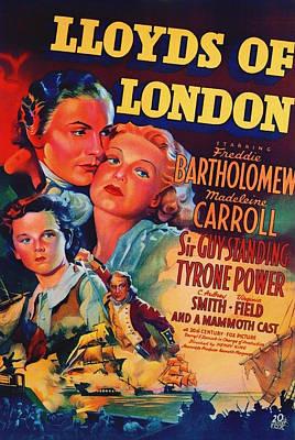 Lloyds Of London 1936 Poster