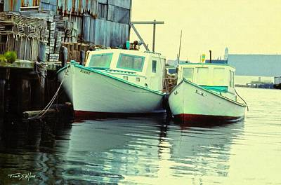 Lobster Boats Poster