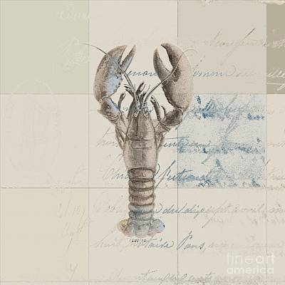 Lobster - J122129185-1212 Poster by Variance Collections