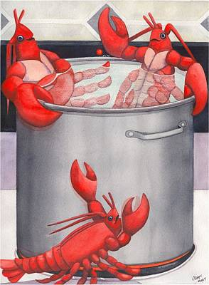 Lobster Spa Poster