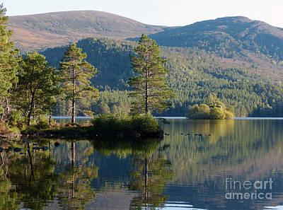 Loch An Eilein - Cairngorms National Park Poster