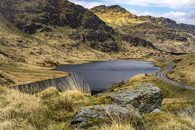 Loch Restil From Rest And Be Thankful Poster