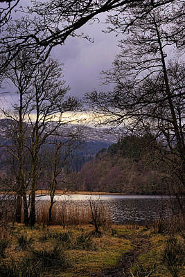 Poster featuring the photograph Loch Venachar by Jeremy Lavender Photography