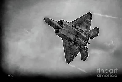 Lockheed Martin F-22 Raptor Poster by Rene Triay Photography