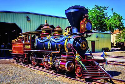 Locomotive Glenbrook Poster
