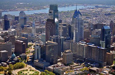 Logan Center City Philadelphia Poster by Duncan Pearson