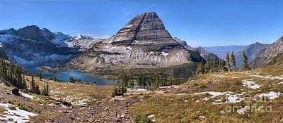 Logan Pass Bearhat Mountain  Poster