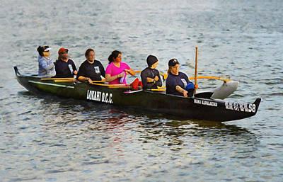 Lokahi Outrigger Canoe Club Poster