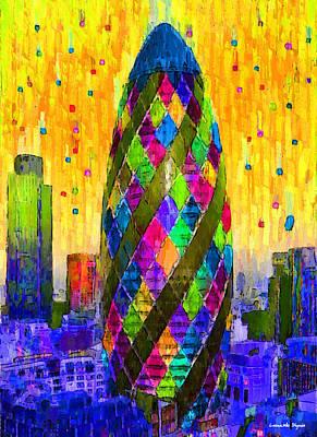 London Bullet 7 - Pa Poster by Leonardo Digenio