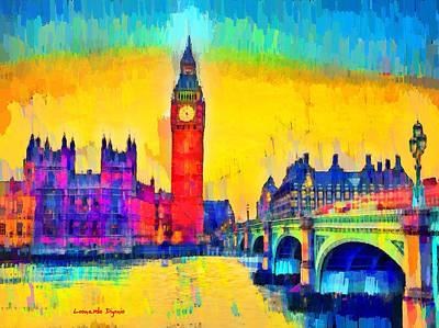 London Downtown - Da Poster