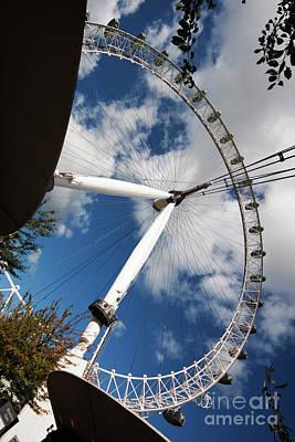 London Ferris Wheel Poster