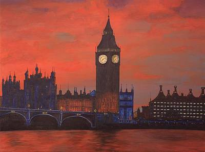 London Poster by Jennifer Lynch