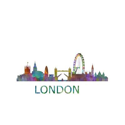 London Uk Skyline Hq  Poster by HQ Photo