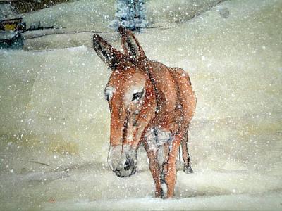 Lone Mule Poster