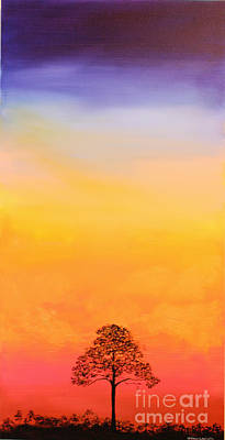Lone Pine Poster by Michele Hollister - for Nancy Asbell
