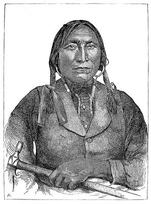 Lone Wolf, C1850 Poster by Granger