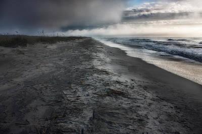 Lonely Beach Poster by Matt  Trimble