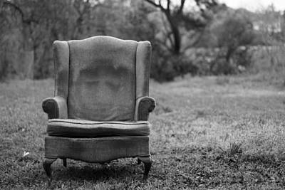 Lonely Chair Poster by SAndrew Photography