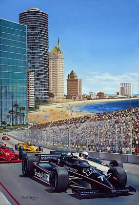 Long Beach Grand Prix 1984 Poster