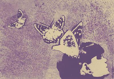Long Gone Whisper - Amaranth Poster