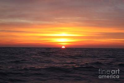 Long Island Winter Sunrise Poster by John Telfer