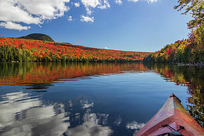Long Pond From A Kayak Poster by Tim Kirchoff