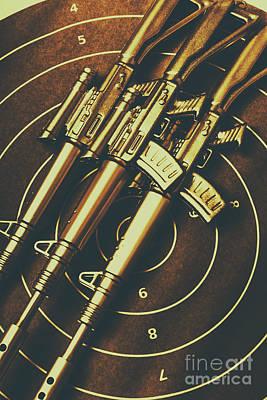 Long Range Tactical Rifles Poster