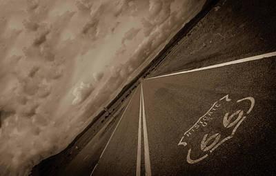 Long Road Too Poster by Brendan Quinn