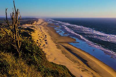Long Strech Of Oregon Beach Poster by Garry Gay