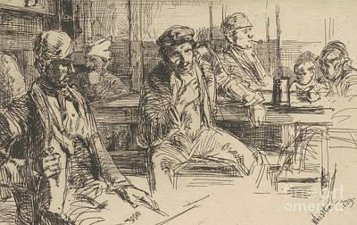 Longshoreman, 1859 Poster