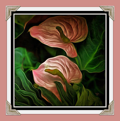 Longwood Lilies Poster